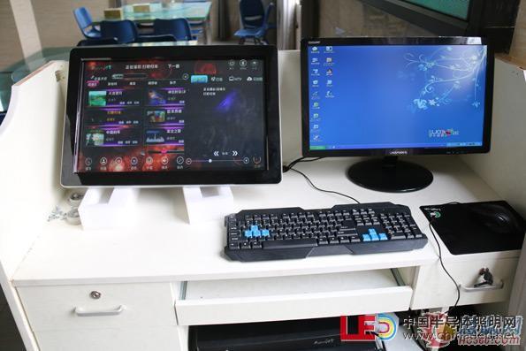 电脑连接led显示屏