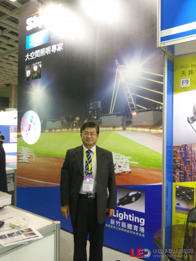大空间照明专家轩豊董事长林景清:客制化光型设计,满足任何照度需求