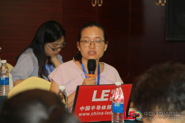 国家半导体照明工程研发及产业联盟标准化委员会(CSAS)副秘书长高伟博士