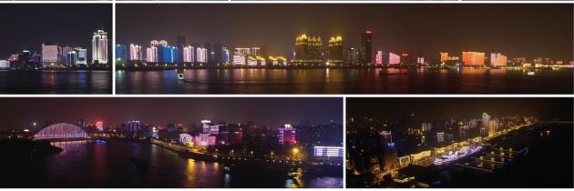 武汉两江四岸景区照明项目