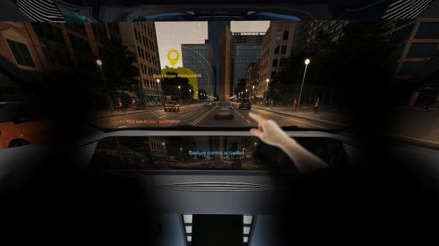 手势识别控制改善了驾驶员与车辆之间的直观交互