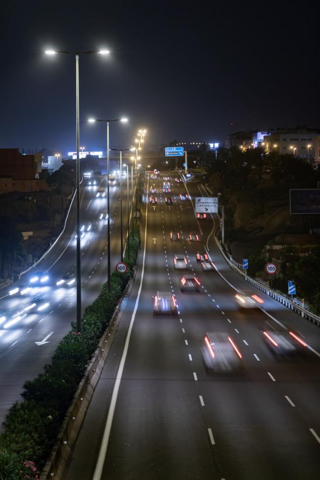 【新闻图片】昕诺飞为大加那利岛的主干高速公路安装Interact City智能互联道路照明系统-3
