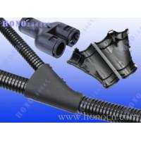 尼龙波纹软管Y型接头 塑料软管T型三通