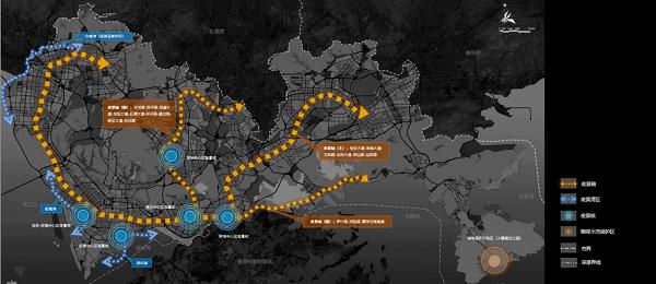 深圳市城市照明总体结构图